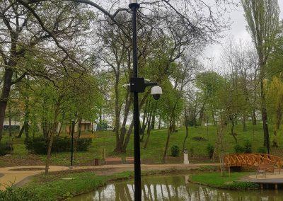 Tatabánya, Liget megfigyelése tatabányán térfigyelő kamerákkal
