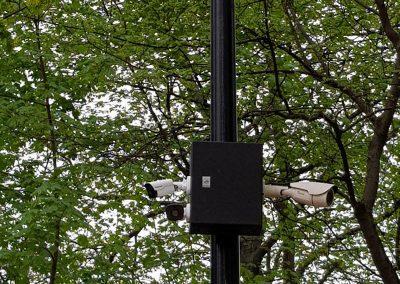 Tatabányai térfigyelő kamera Liget kamera