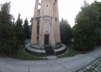 Tatabánya Erőműi lakótelep víztorony. A drón felvételt a Vértesnet készítette. tatabánya szépségei sorozat.