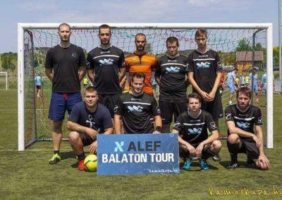 Balatonfüreden játszott a VértesNet focicsapata