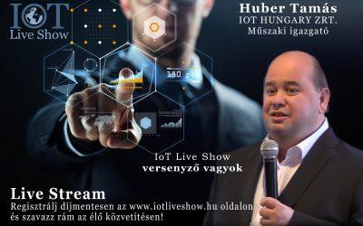 Találkozz velünk az IoT Live Show-n vagy kapcsolódj be online!
